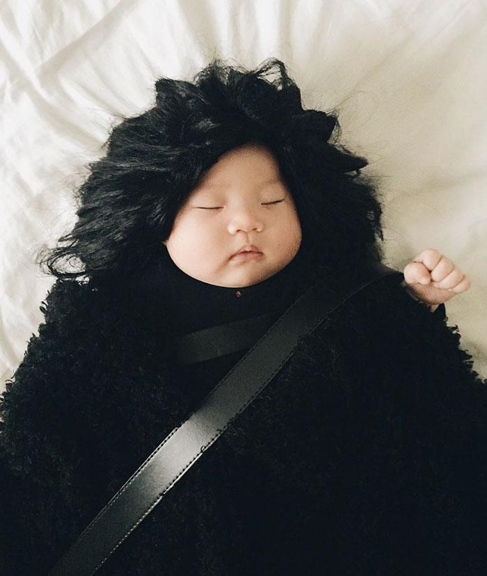 bebe siesta disfraz 9