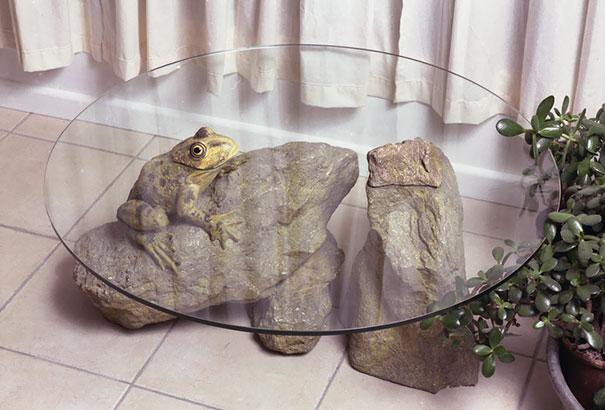 mesa animales en el agua 5