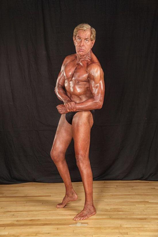 Bernie Long, el culturista con 72 anos 2