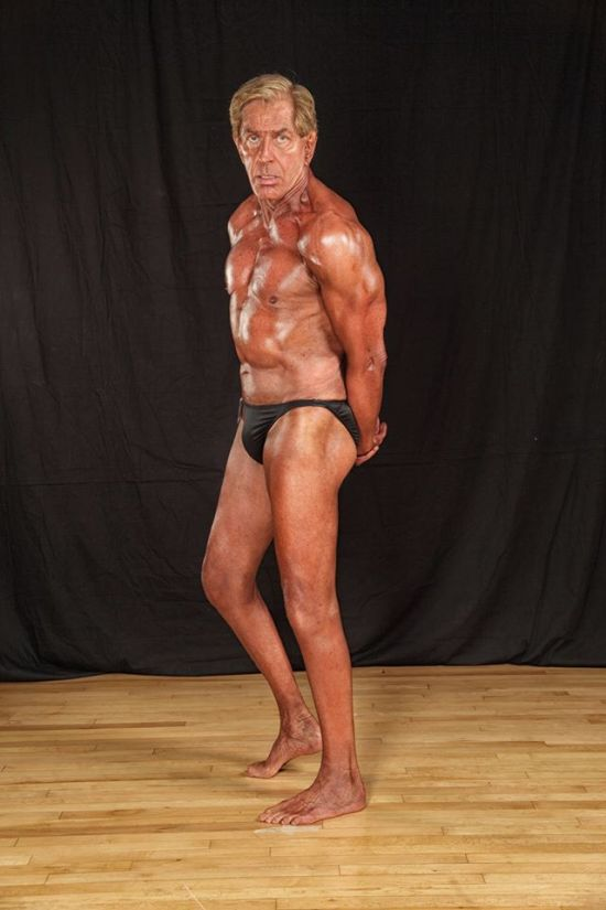 Bernie Long, el culturista con 72 anos 3