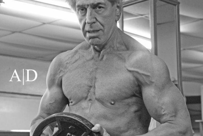 Bernie Long, el culturista con 72 anos 7