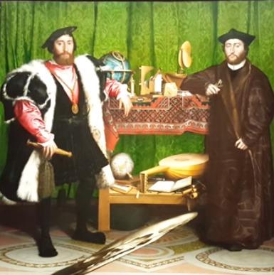 Los embajadores de Hans Holbein