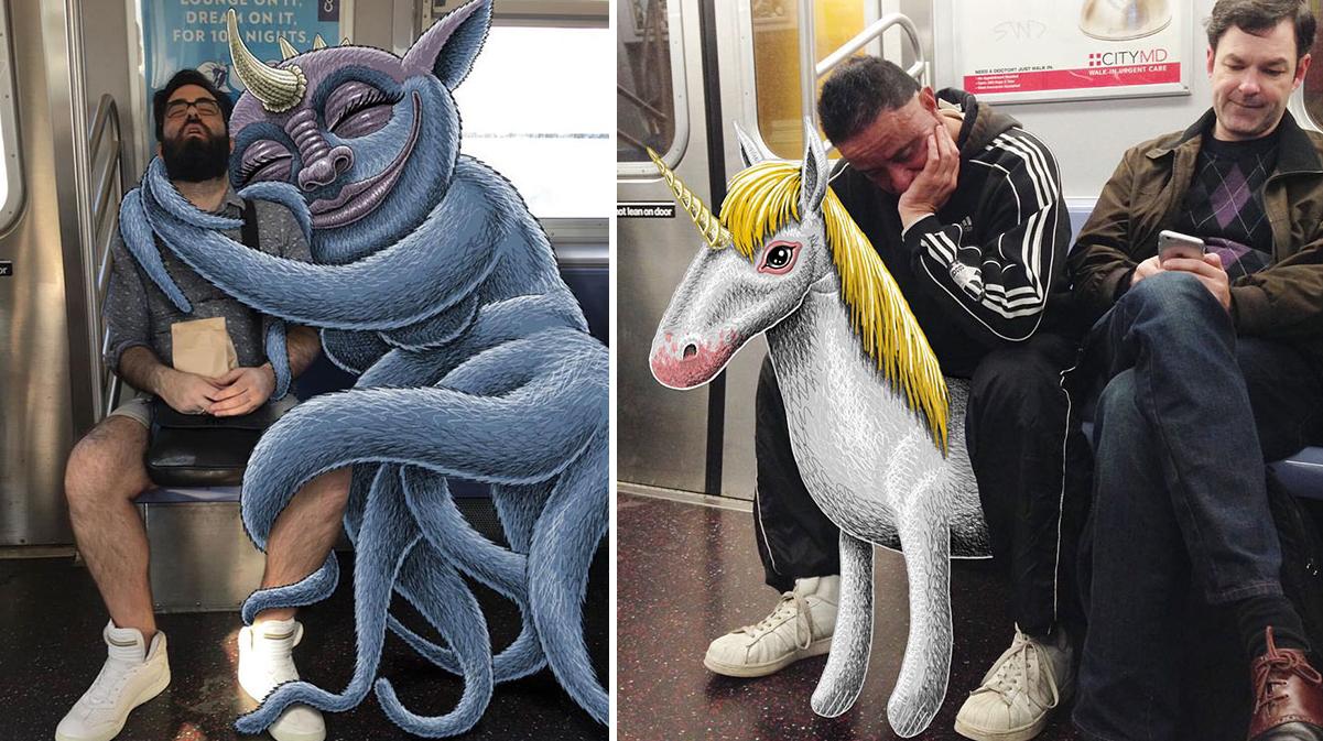 artista-monstruos-metro