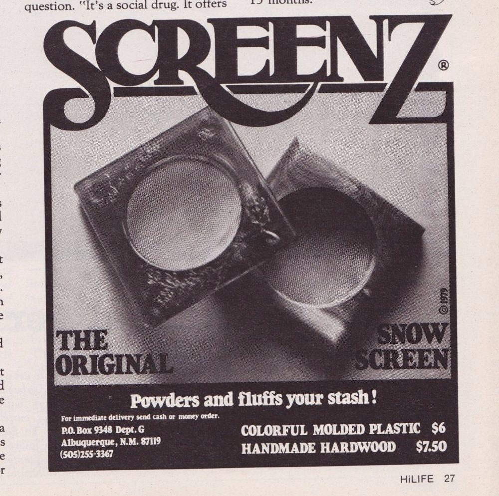 asi anunciaban productos relacionados con la cocaina en las revistas de los años 70 y 80 10