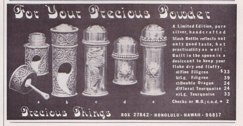 asi anunciaban productos relacionados con la cocaina en las revistas de los años 70 y 80 11