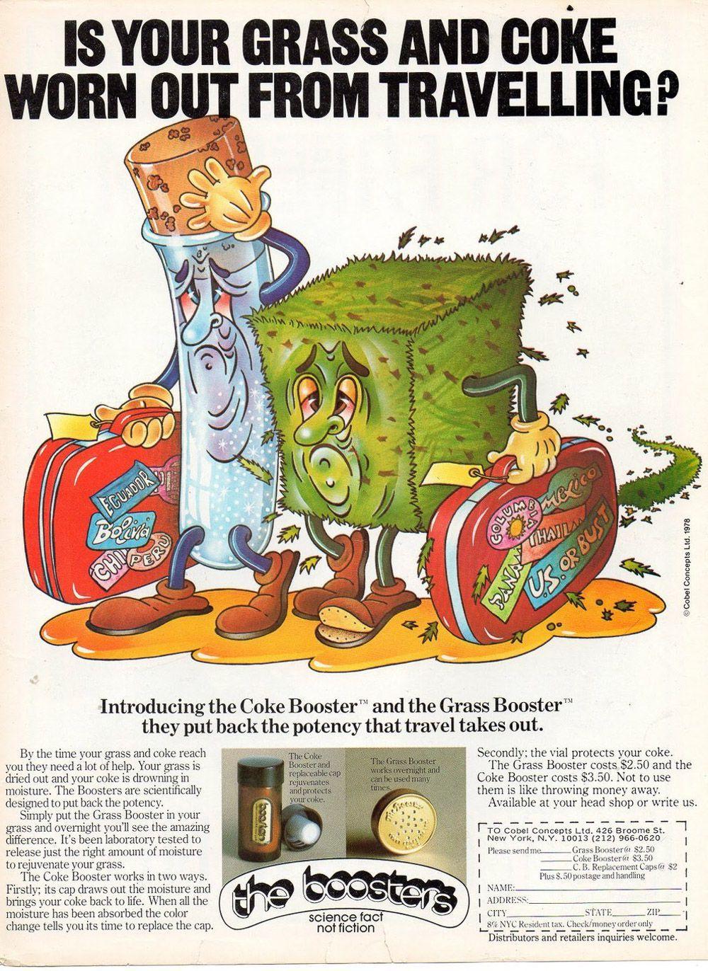 asi anunciaban productos relacionados con la cocaina en las revistas de los años 70 y 80 16