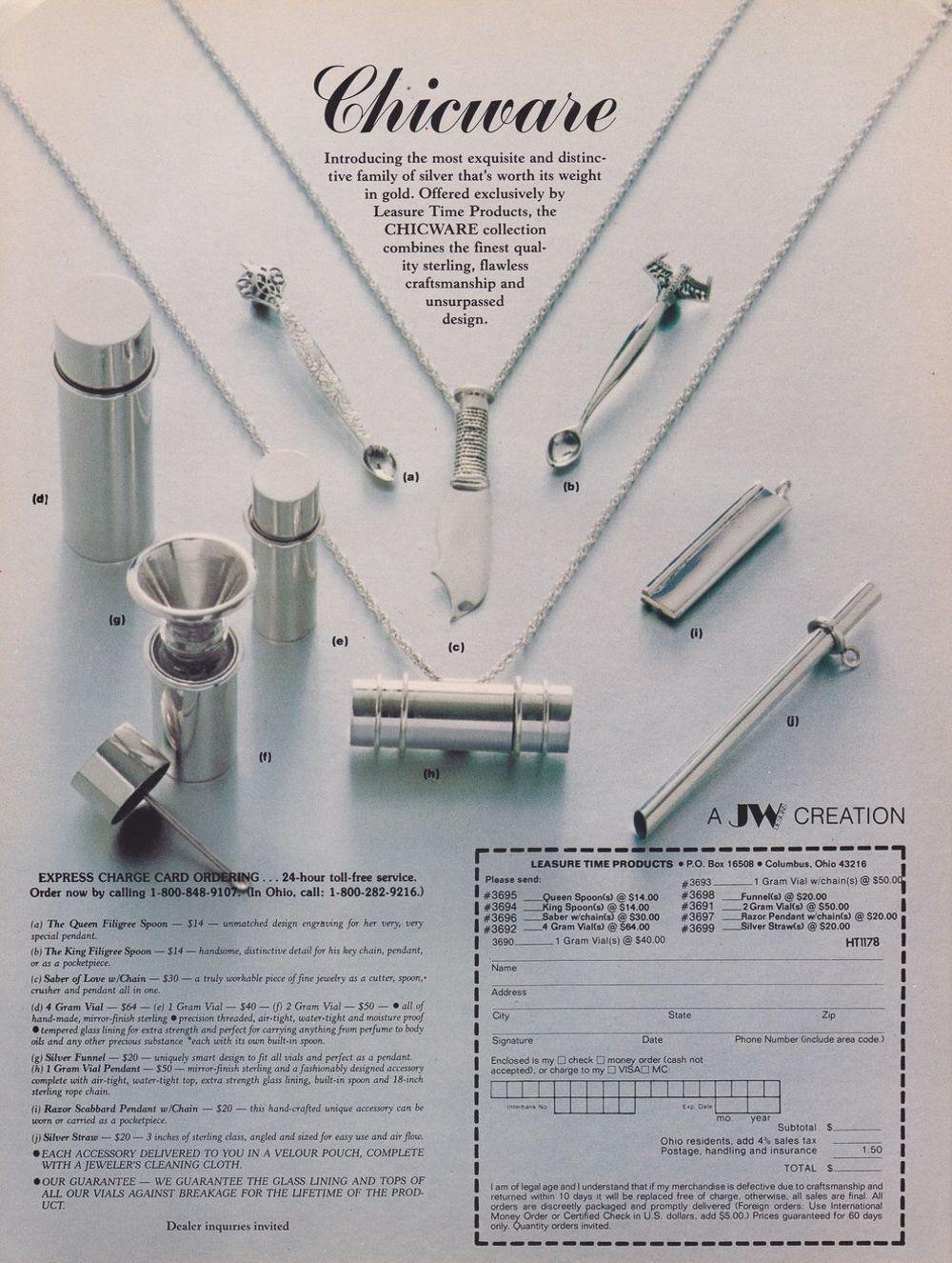 asi anunciaban productos relacionados con la cocaina en las revistas de los años 70 y 80 19