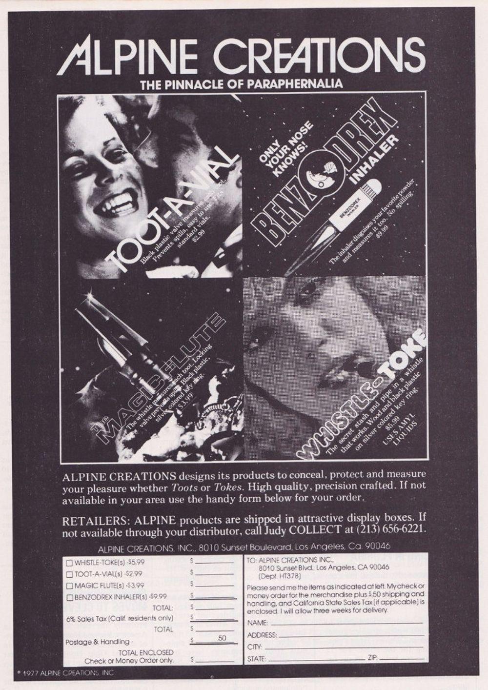 asi anunciaban productos relacionados con la cocaina en las revistas de los años 70 y 80 22