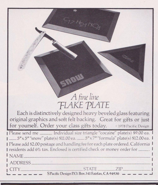 asi anunciaban productos relacionados con la cocaina en las revistas de los años 70 y 80 23