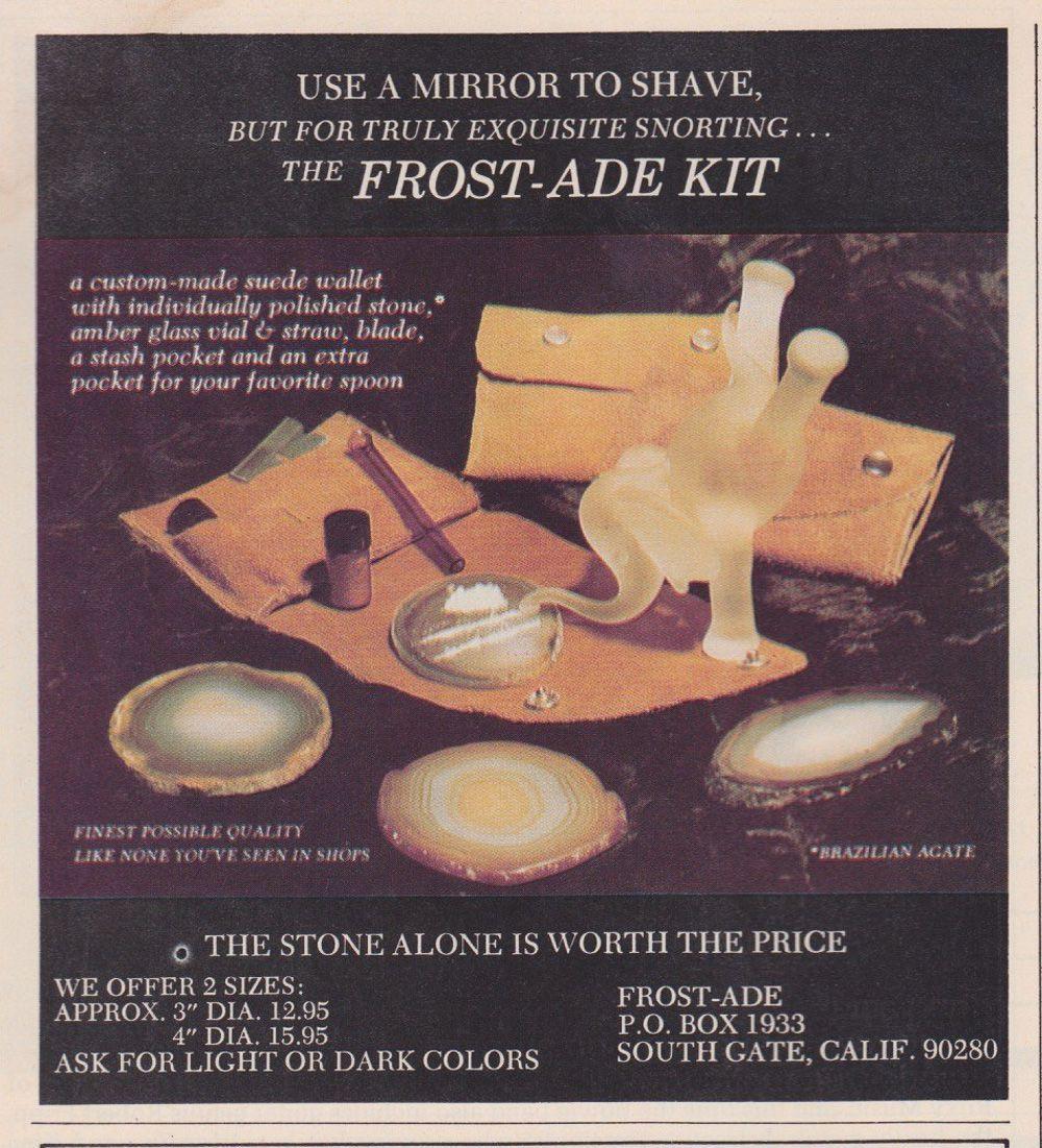 asi anunciaban productos relacionados con la cocaina en las revistas de los años 70 y 80 26