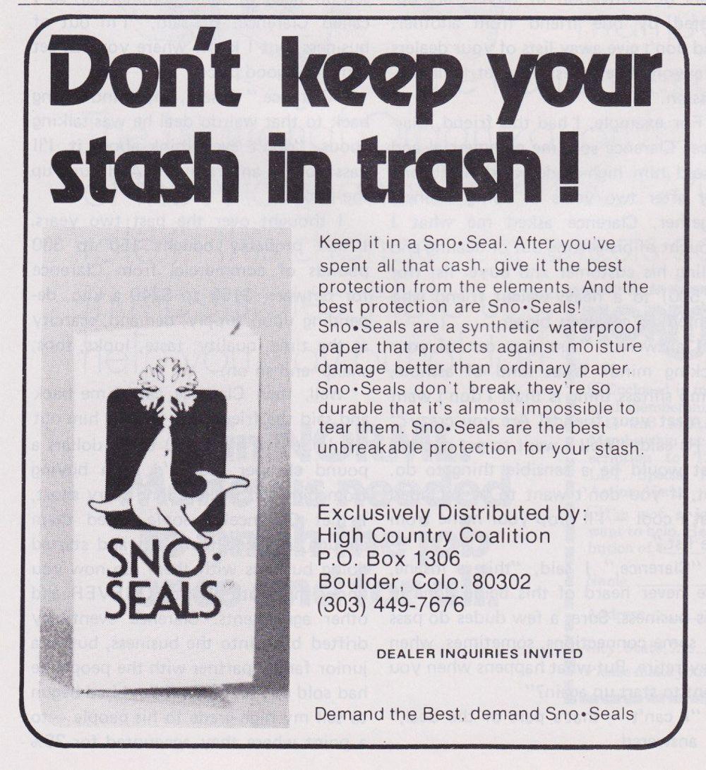 asi anunciaban productos relacionados con la cocaina en las revistas de los años 70 y 80 27