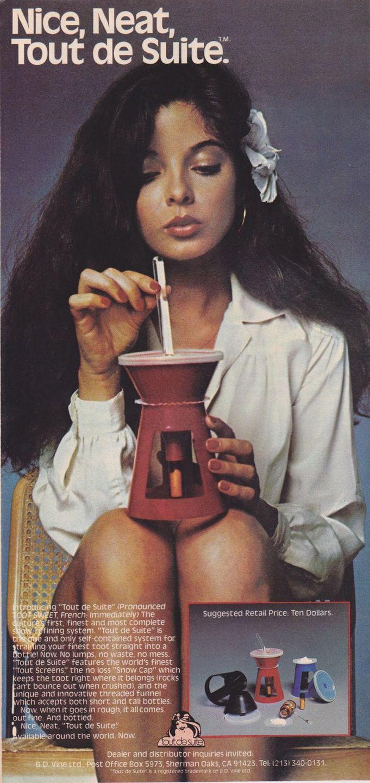 asi anunciaban productos relacionados con la cocaina en las revistas de los años 70 y 80 28