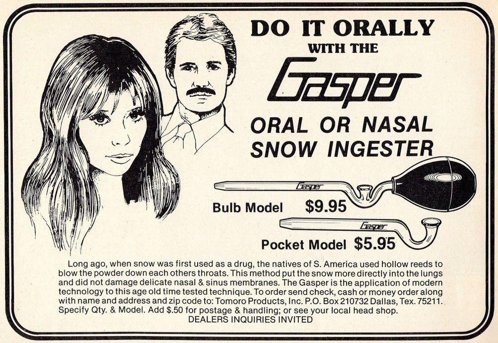 asi anunciaban productos relacionados con la cocaina en las revistas de los años 70 y 80 3