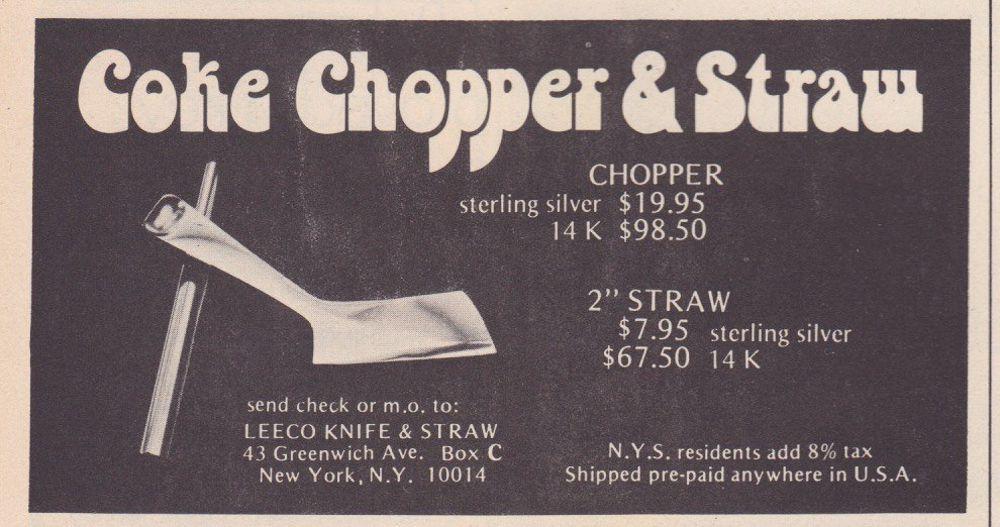 asi anunciaban productos relacionados con la cocaina en las revistas de los años 70 y 80 5