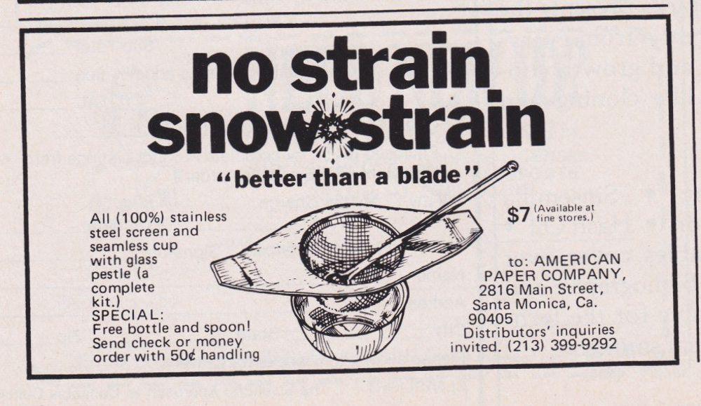 asi anunciaban productos relacionados con la cocaina en las revistas de los años 70 y 80 6