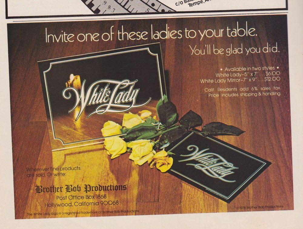 asi anunciaban productos relacionados con la cocaina en las revistas de los años 70 y 80 8