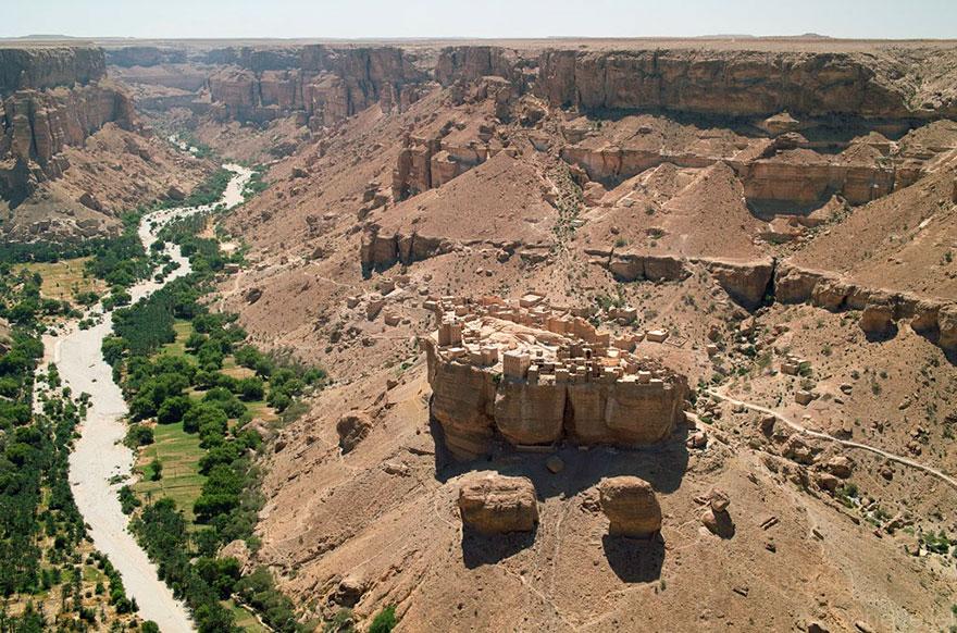 ciudad roca yemen 3