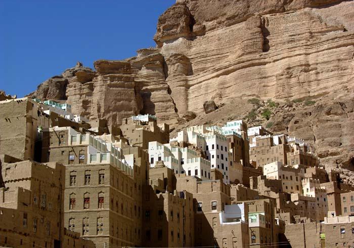 ciudad roca yemen 6