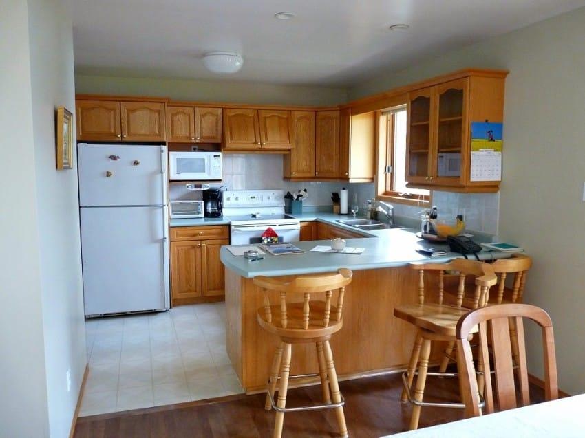 Con unas ollas, pintura y paciencia, transformó su vieja cocina en ...