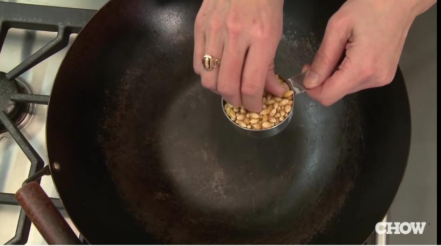 como hacer palomitas en un wok 6