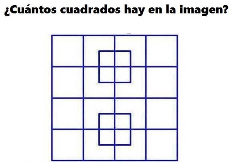 cuantos cuadrados ves aqui