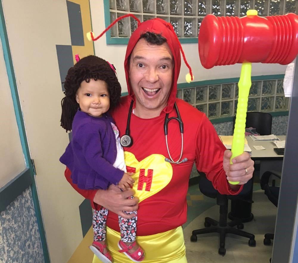 doctor disfraz superheroe 2
