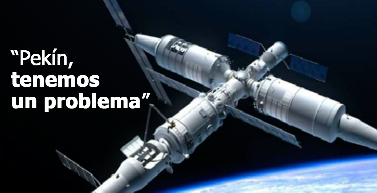 estacion espacial china caera a la tierra fuera de control