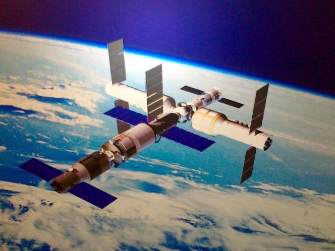 estacion espacial china tiangong caera sobre la tierra 3