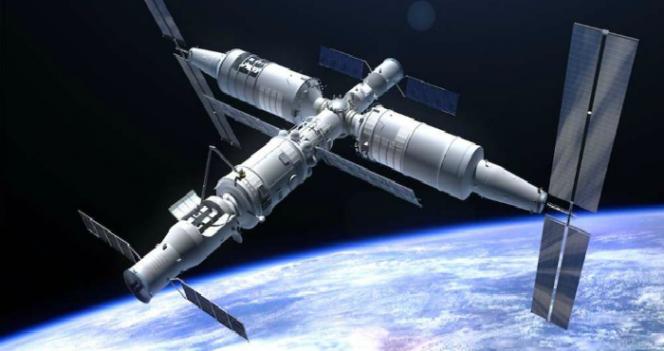 estacion espacial china tiangong caera sobre la tierra 5