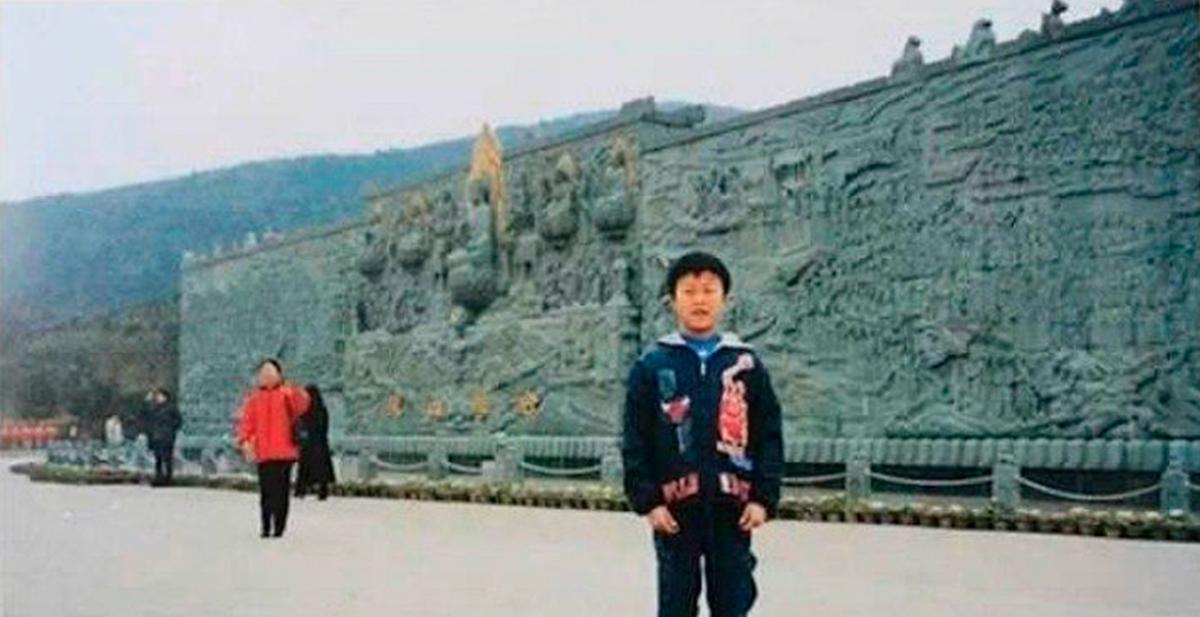 foto de casualidad en china