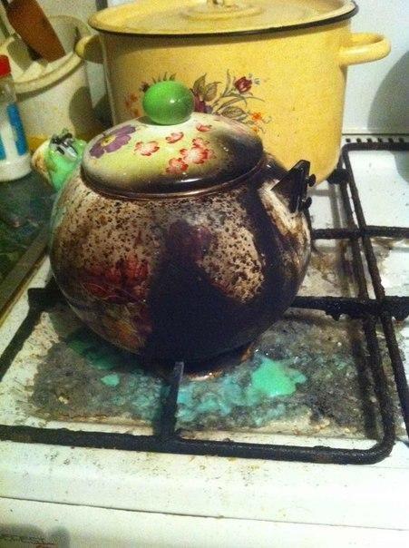 gente despistada liandola en la cocina 17