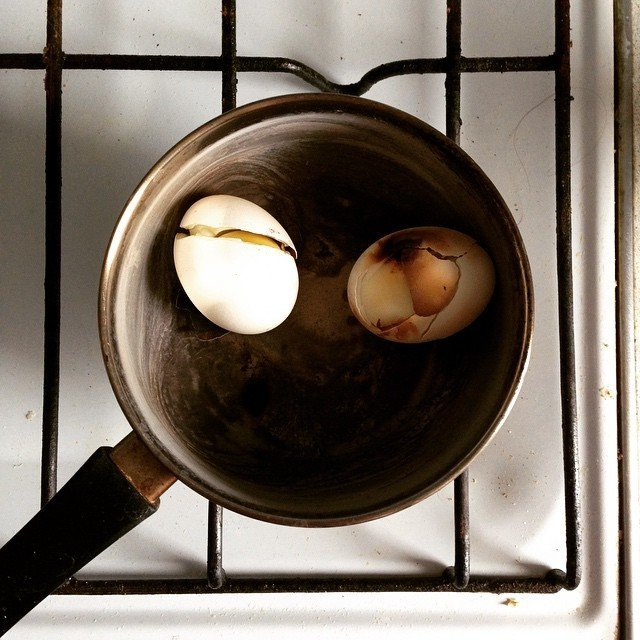 gente despistada liandola en la cocina 19