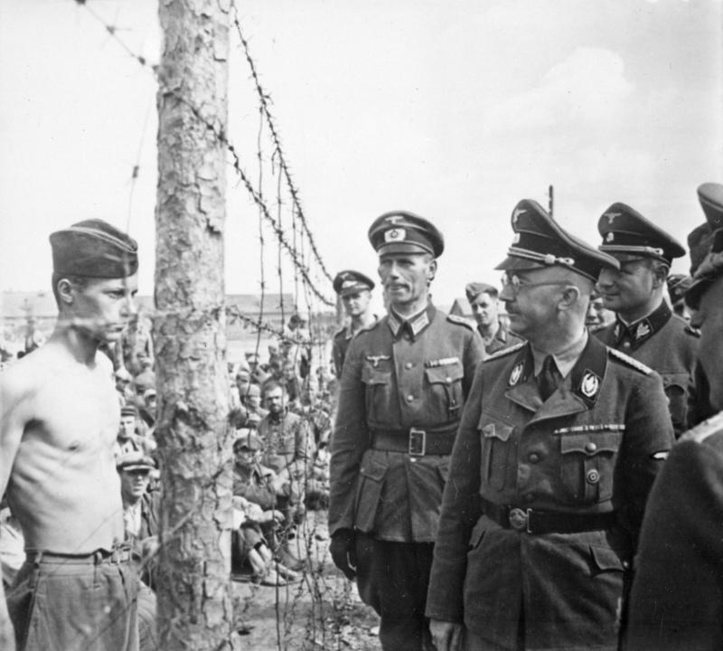 Campamento de prisioneros de guerra, 1941. (Foto: Dominio público )