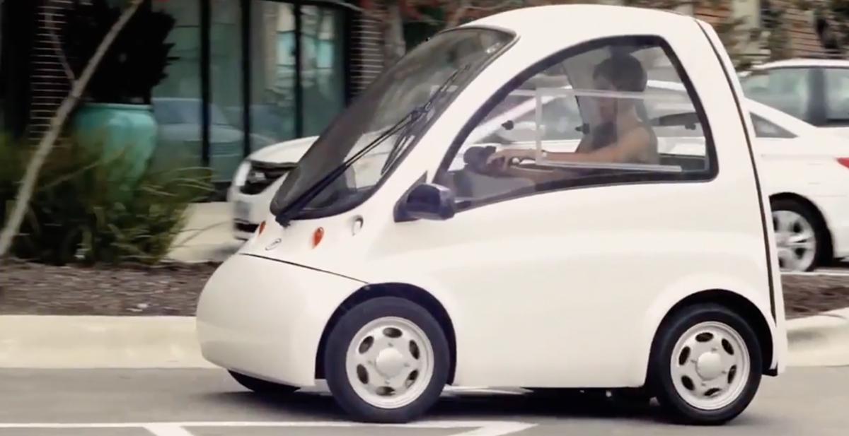 kenguru car coche para gente en silla de ruedas