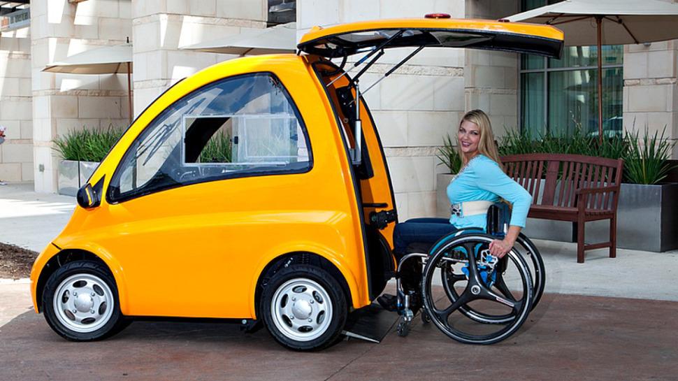 kenguru car vehiculo para gente en silla de ruedas 1