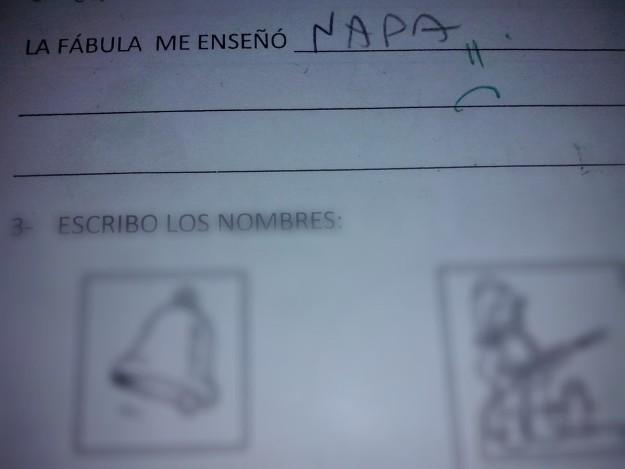 las respuestas mas graciosas de ninos en examenes 3