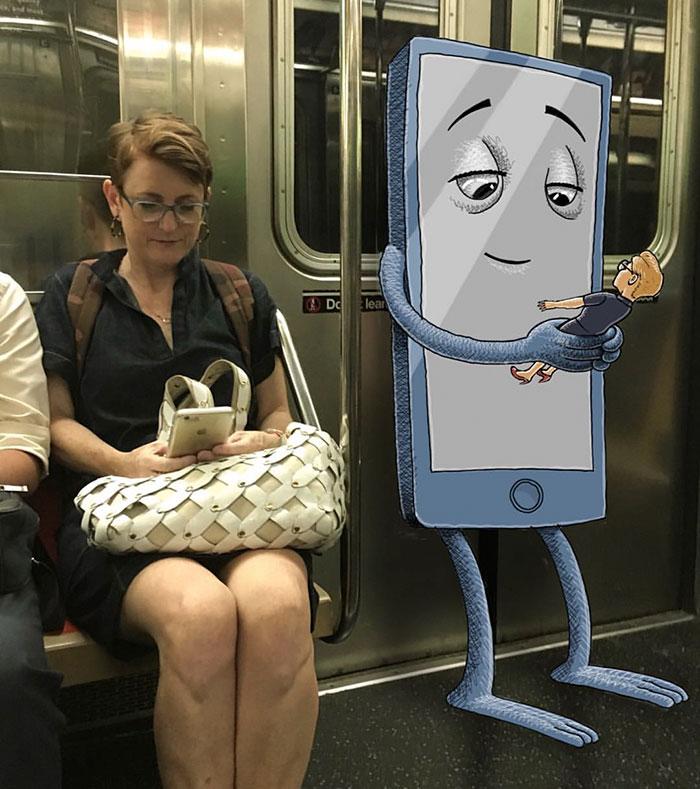 monstruos del metro de New York 1