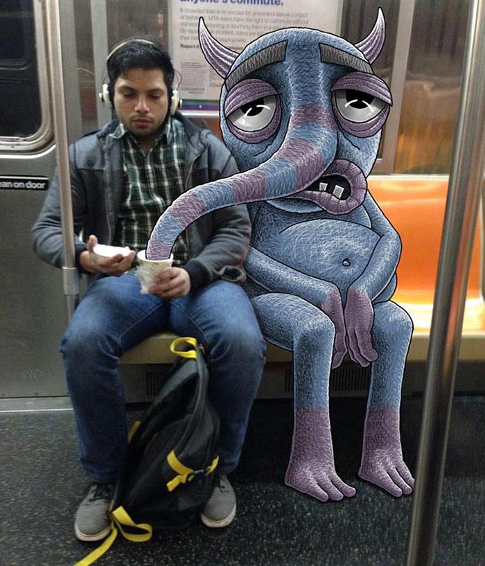 monstruos del metro de New York 10