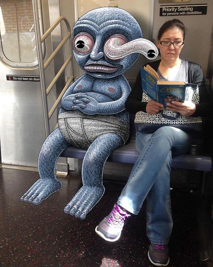 monstruos del metro de New York 11