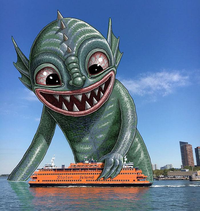 monstruos del metro de New York 13