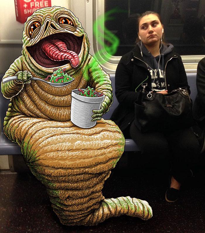 monstruos del metro de New York 14