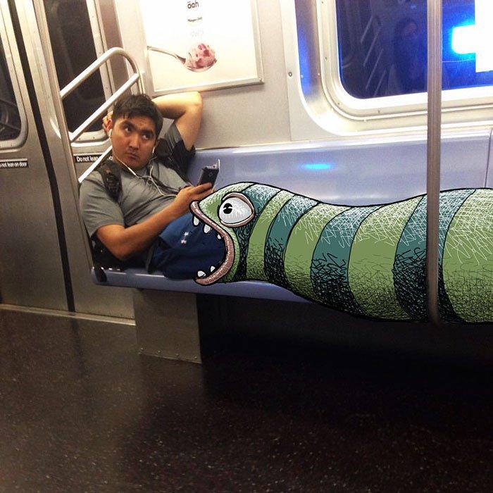 monstruos del metro de New York 15