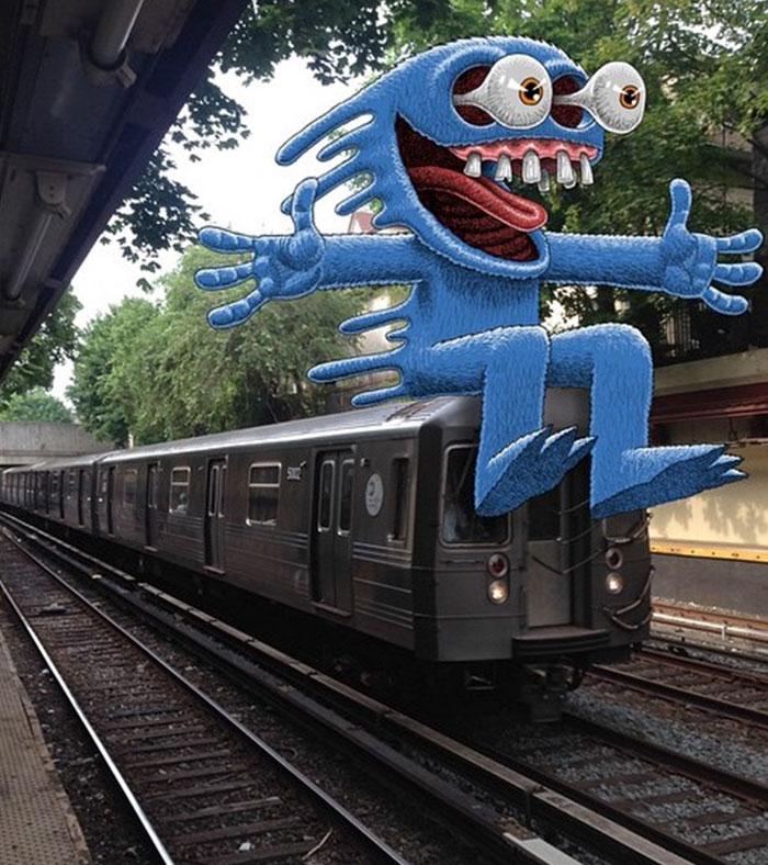 monstruos del metro de New York 16