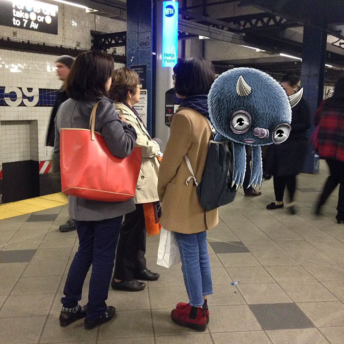 monstruos del metro de New York 17