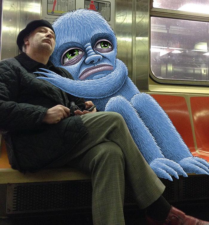 monstruos del metro de New York 18
