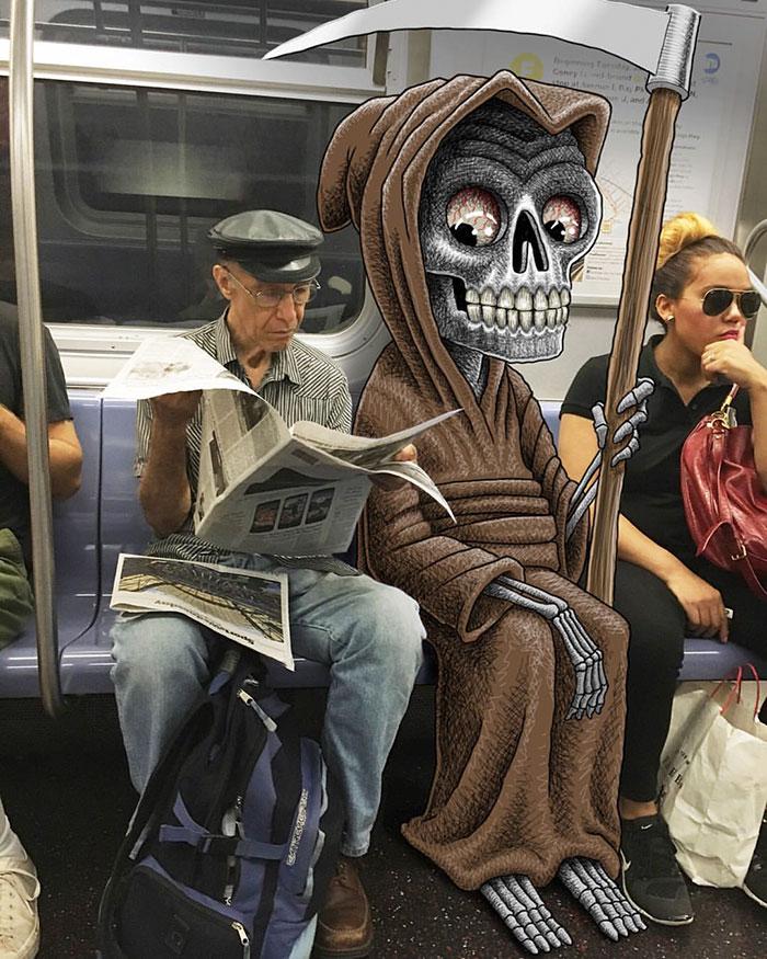 monstruos del metro de New York 19