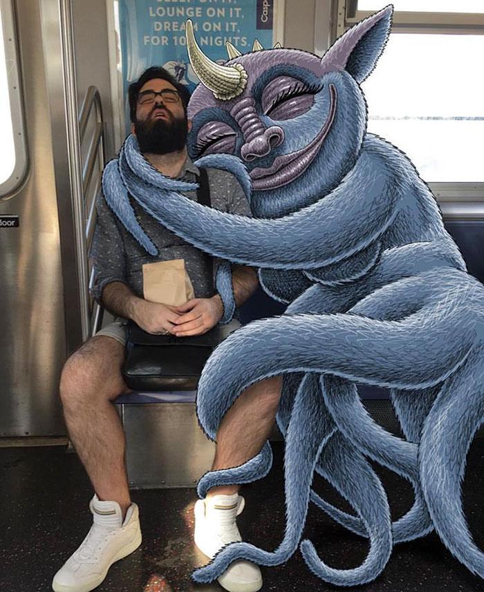 monstruos del metro de New York 2