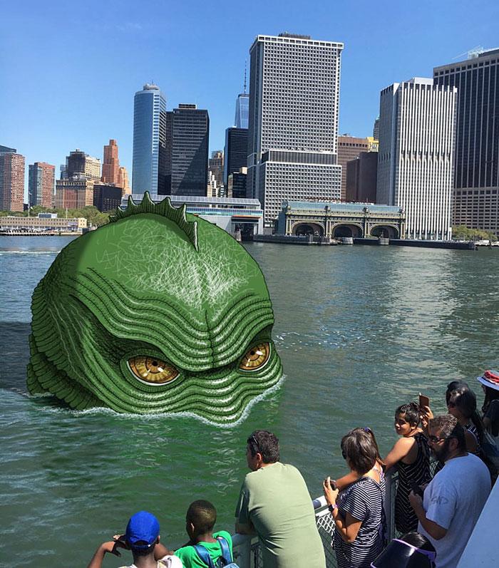 monstruos del metro de New York 20