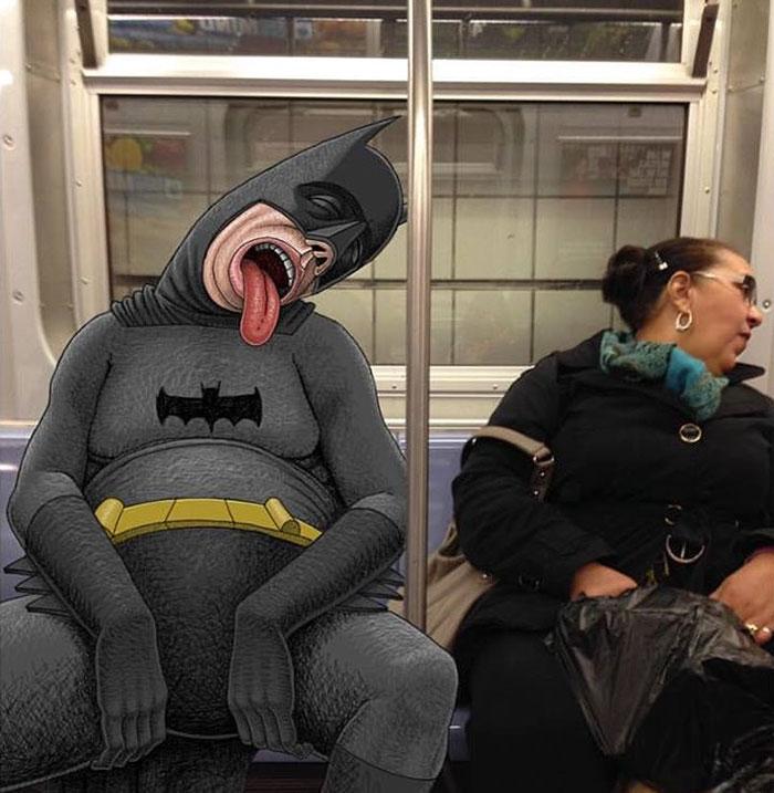 monstruos del metro de New York 21