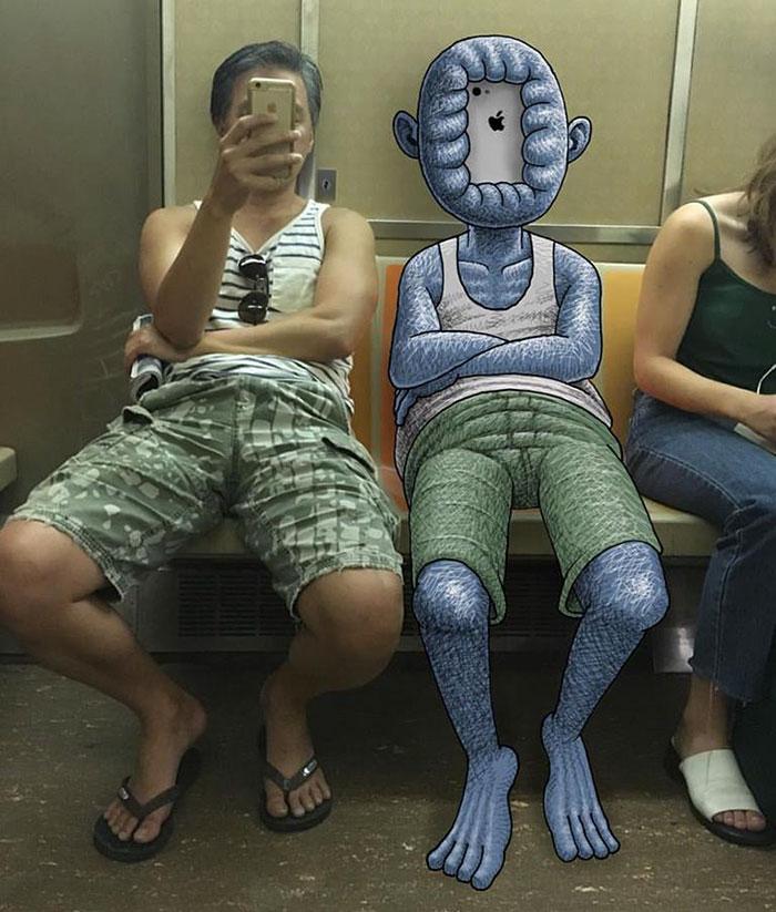 monstruos del metro de New York 5